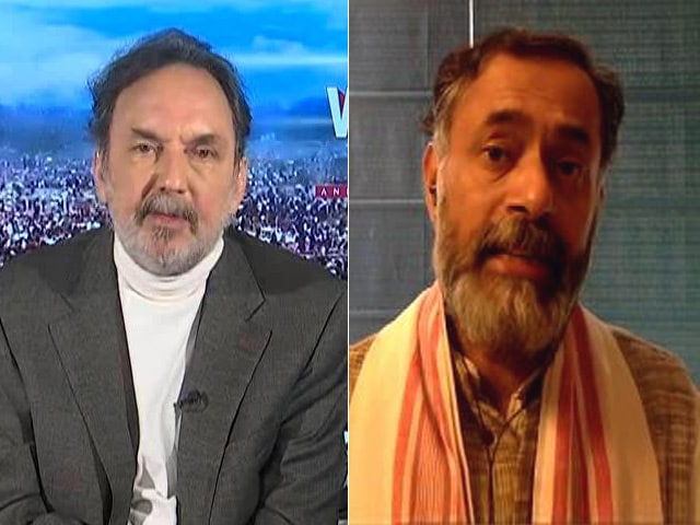 Video : BJP Has Cut Nitish Kumar To Size: Yogendra Yadav On Bihar Poll Gains