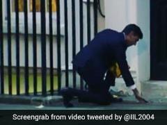 Watch: Rishi Sunak Lights <i>Diya</i> On Downing Street In London Ahead Of Diwali