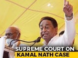 "Video : Election Commission ""Has No Power"", Says Supreme Court On Kamal Nath Case"