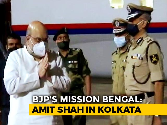 Video : Amit Shah In Bengal - Pacifying Matua Community, Poll Blueprint On Agenda