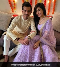 Chahal's Fiancee Praises Her Selfie Skills In Adorable Photo. See Pic