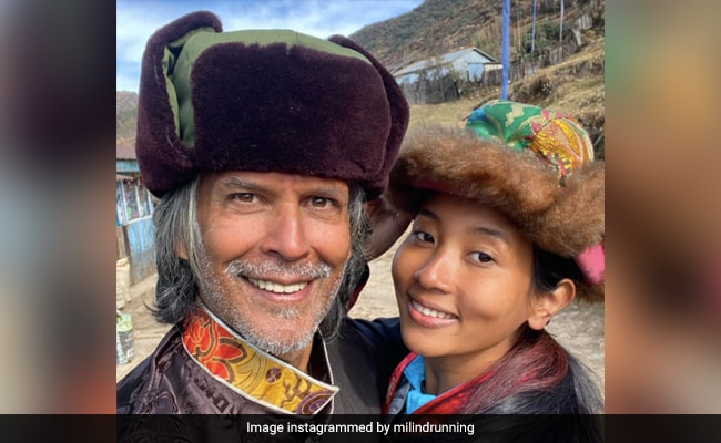 En-Route Sandakphu, What Milind Soman And Ankita Konwar Did On Their Pit Stop At 10,000 Feet
