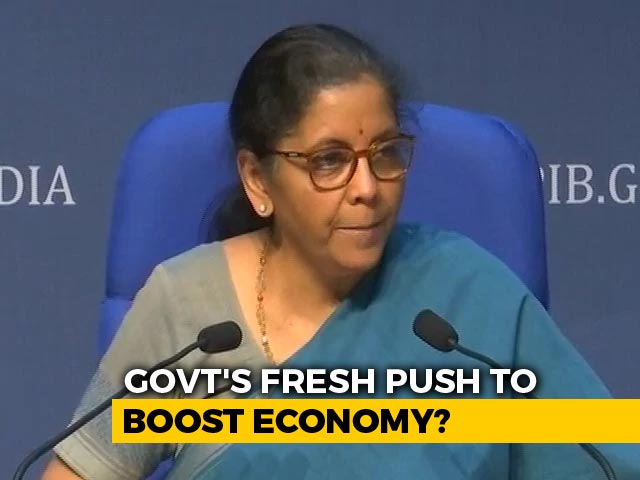 Video: Another Round Of Stimulus Likely Before Diwali: Sources