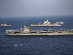 US, Indian Carrier Battle Groups Lead Phase 2 Of Asia's Largest Naval War Games