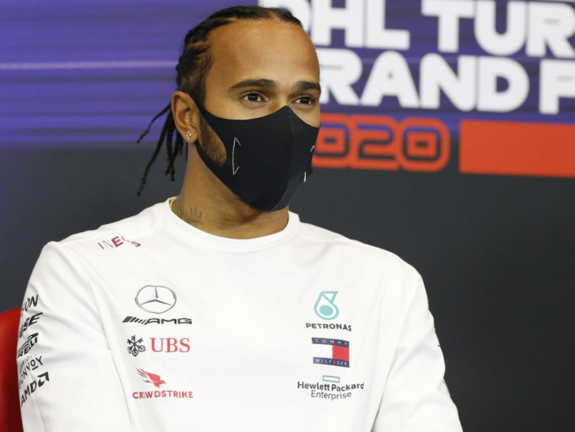 Lewis Hamilton Terrified By New Istanbul Surface After Practice Slip And Slide