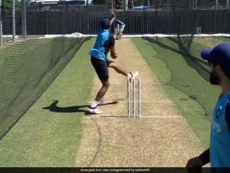 استرالیا علیه هند: Ravichandran Ashwin تمرین شبکه را در سال 2008 آغاز می کند