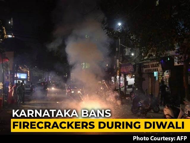 Video : Karnataka Bans Firecrackers During Diwali, BS Yediyurappa Cites Covid