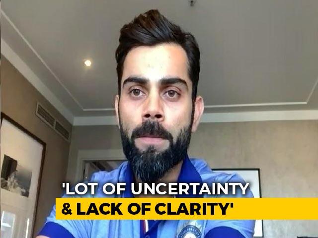 Video : Virat Kohli Speaks On Rohit Sharma's Injury