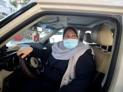 Mother Of Five Steers New Course As Gaza's First Woman Taxi Driver