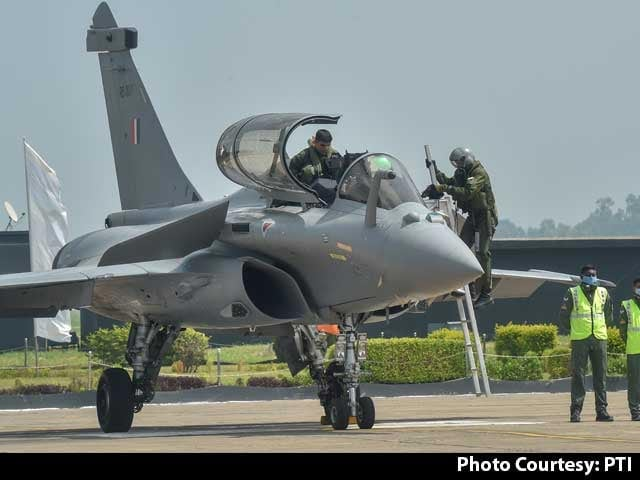 Video : Second Batch Of Rafale Jets Arrives After Flying Non-Stop From France