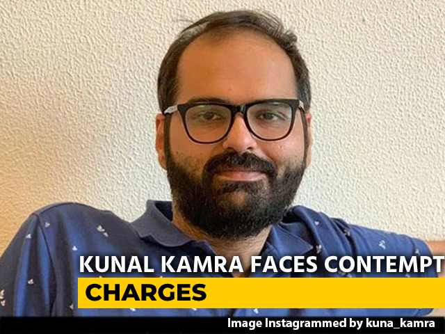 Video : Comedian Kunal Kamra Faces Contempt Charges Over Supreme Court