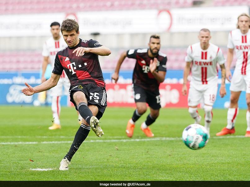 Bundesliga: Thomas Mueller Equals Oliver Kahns Record As Bayern Munich Go Top