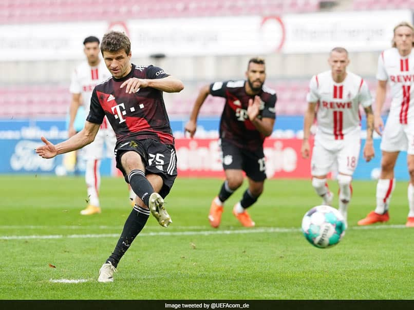 Bundesliga: Thomas Mueller Equals Oliver Kahns Record As Bayern Munich Go Top