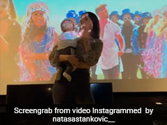 नताशा स्टेनकोविक ने अपने बेटे के साथ डांस करते हुए शेयर किया Video,  फैन्स ने यूं दिया रिएक्शन