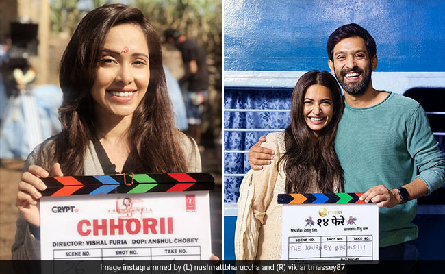Nushrratt Bharruccha, Vikrant Massey And Kriti Kharbanda Are 'Back In Action.' Details Of Their New Projects Here