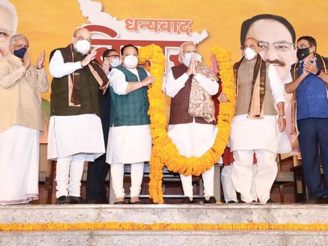 Video : Top News Of The Day: BJP Celebrates Bihar Win At Delhi HQ