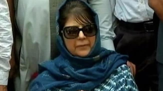 Mehbooba Mufti Has Not Been Detained: J&K Election Commissioner