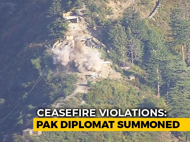 Video : India Summons Pakistani Diplomat Over Flare-Up Along Line Of Control
