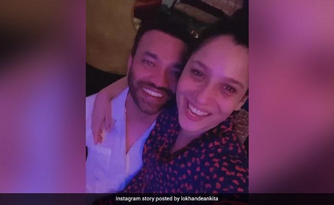 Ankita Lokhande Is A Happy Soul When Boyfriend Vicky Jain Is Around