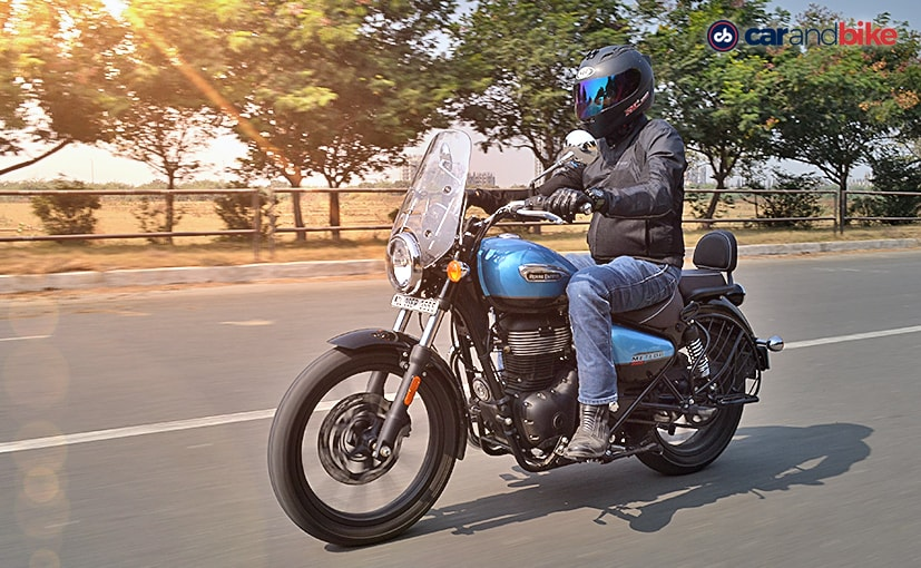 The Royal Enfield Meteor 350 is the first model in RE's all-new 350 cc platform