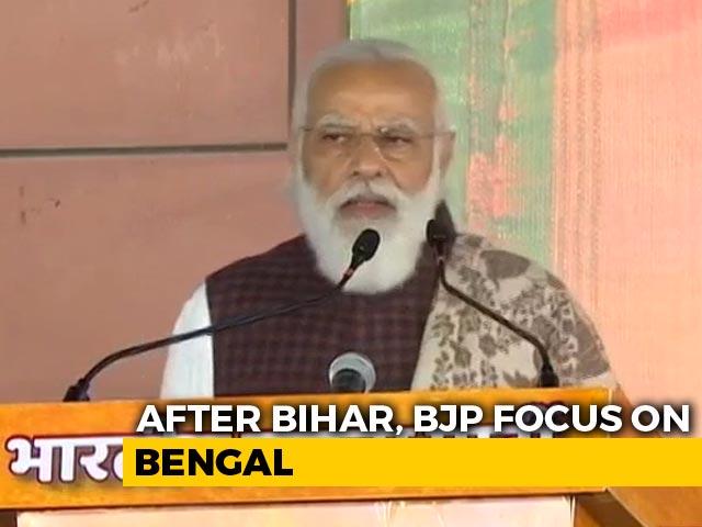 Video: In Bihar Victory Speech, PM's Message For Next Poll Battleground Bengal