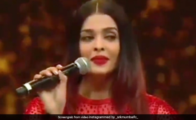 Shahrukh Asked Aishwarya Rai The Hindi Meaning Of Camera Gave Such An Answer That Everyone S Eyes Were Open See Video Kbn News English The first name aishwarya is of hindu origin. shahrukh asked aishwarya rai the hindi