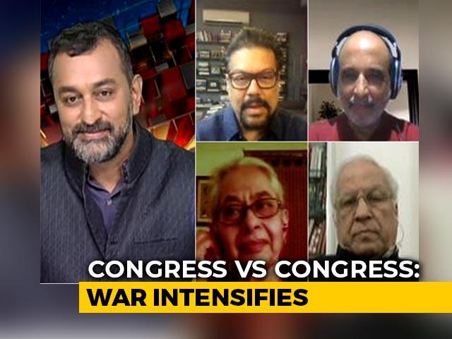 Video : Congress Vs Congress: Infighting Worsens