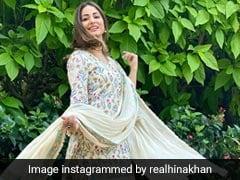 Hina Khan ने खूबसूरत अंदाज से जीता फैन्स का दिल, देखें एक्ट्रेस की एक से एक Pics