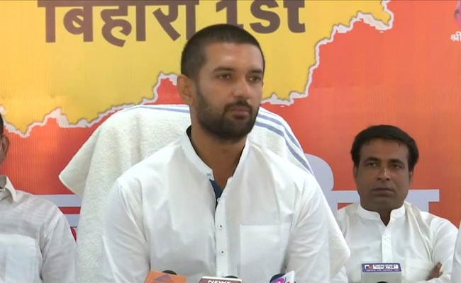 What Chirag Paswan Said After BJP Chose Sushil Modi For Rajya Sabha Seat