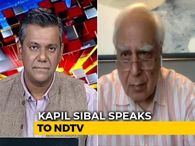 Video : What About Liberty Of Anand Teltumbde, Varavara Rao, Stan Swamy, Asks Kapil Sibal