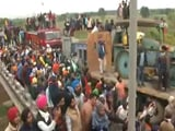 Video : Farmers Marching To Delhi Enter Haryana, Get Past Tear Gas, Water Cannons