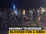 Video : Tension On Assam, Mizoram Border After Man Dies Allegedly In Custody