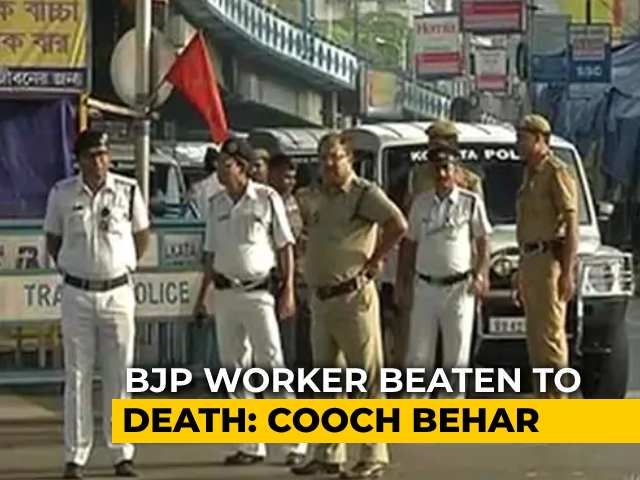 """Video : BJP Worker Allegedly """"Beaten To Death"""" In West Bengal, 1 Arrested: Police"""