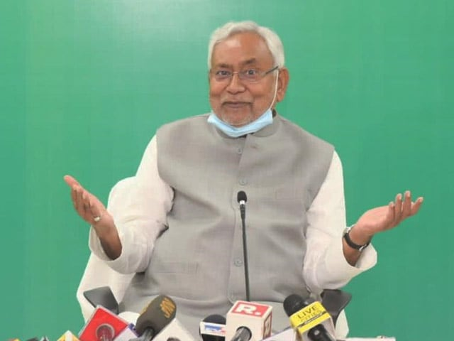 "Video : Nitish Kumar, On Being Chief Minister, Says ""NDA Will Decide"""