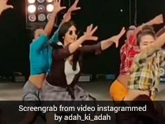 Adah Sharma ने लुंगी पहन इस गाने पर किया जोरदार डांस, खूब वायरल हो रहा Video