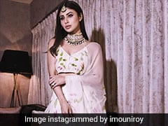 Mouni Roy Proves That A Floral <i>Lehenga</i> Is Perfect All Year Round