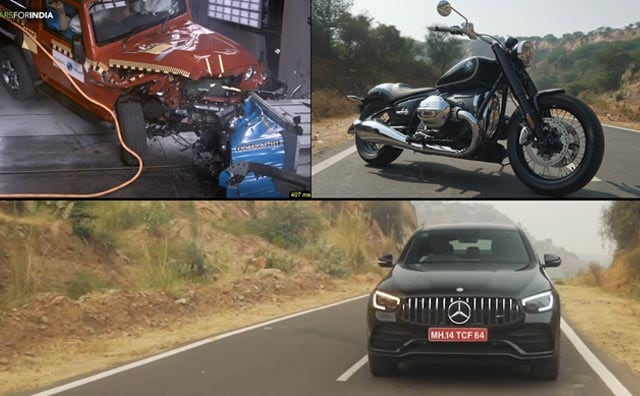 Mahindra Thar Crash Test, BMW R 18 Review & Mercedes-AMG GLC43 4Matic Coupe SUV Review