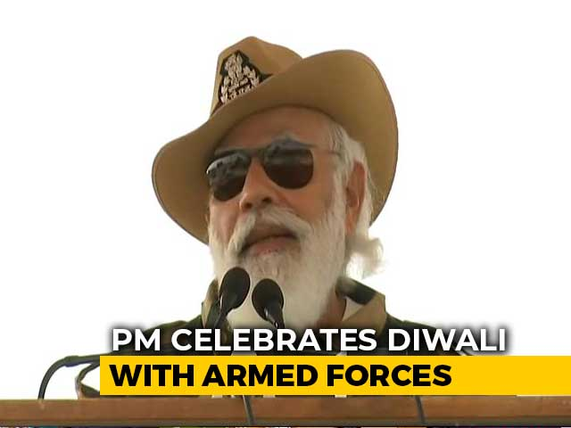 """Video : """"Expansionism Shows Distorted Mindset"""": PM Slams China In Diwali Speech"""