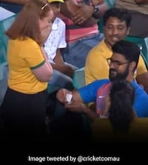 Watch: India Supporter Proposes To Australia Fan During 2nd ODI