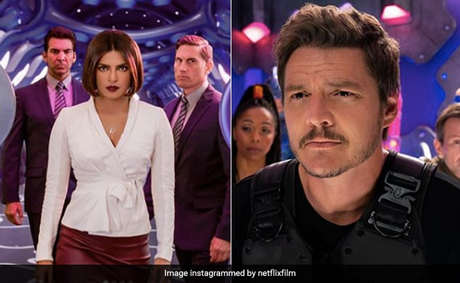 Priyanka Chopra In We Can Be Heroes First Look Means Business. Hello There, Pedro Pascal