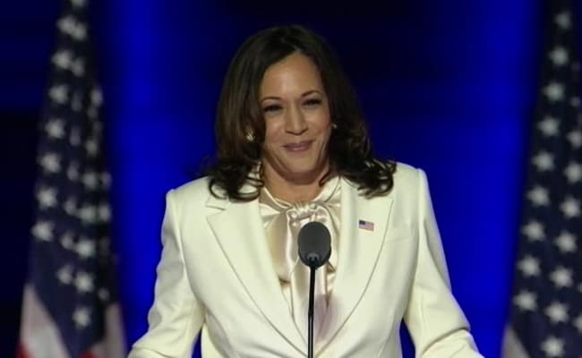 Us Election Results 2020 Kamala Harris Says I May Be 1st Woman In This Office Will Not Be Last