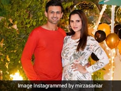 Sania Mirza's 34th Birthday Celebration Was A Dreamy Affair With A Decadent Cake (Pics Inside)