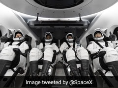 """""""One Heck Of A Ride"""": SpaceX Launches 4 Astronauts Into Space"""