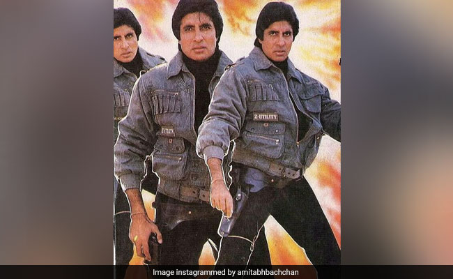 Amitabh Bachchan Shares His Look From A 'Film That Never Got Made'
