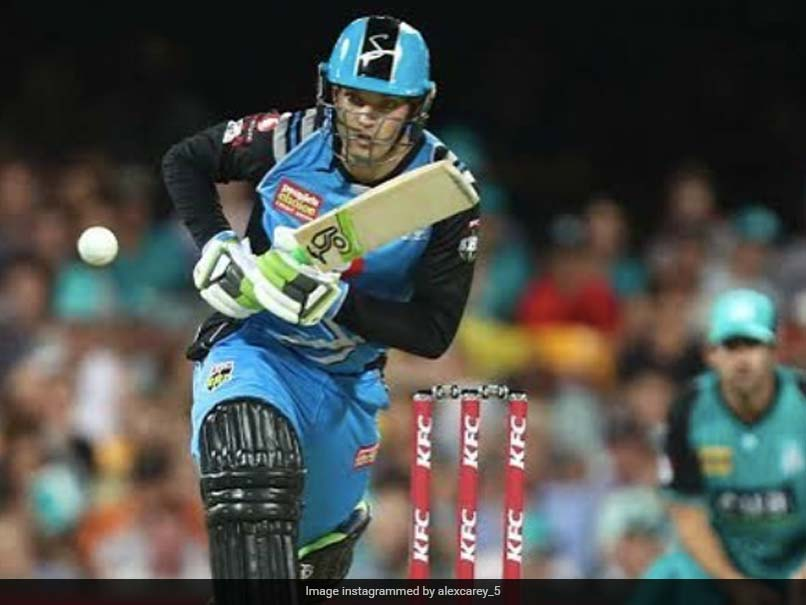 Photo of BBL 2020: Alex Carey Signs New Four-Year Contract With Adelaide Strikers