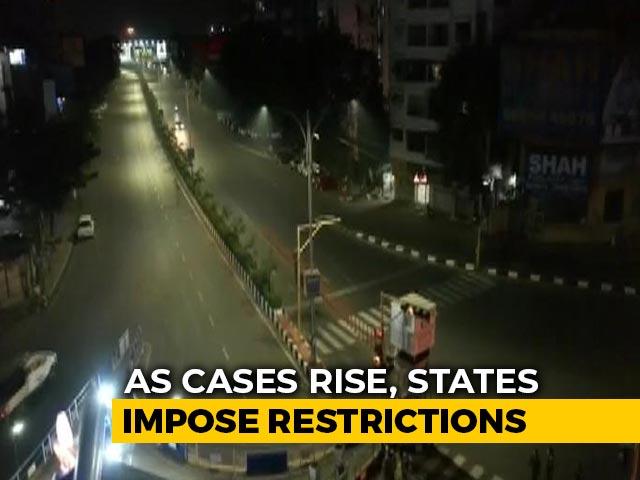 Video: Night Curfew In Parts Of Rajasthan, Gujarat, Madhya Pradesh