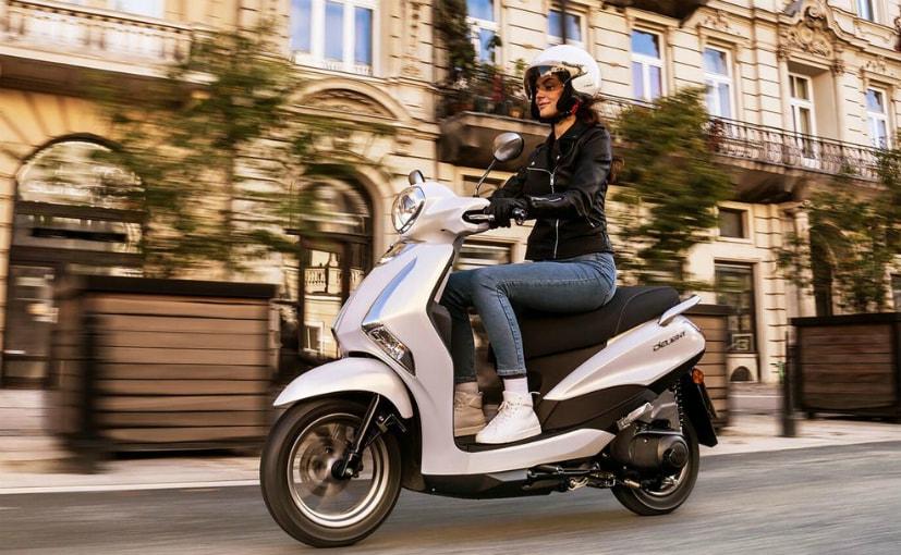The 2021 Yamaha D'elight 125 has been updated for European markets
