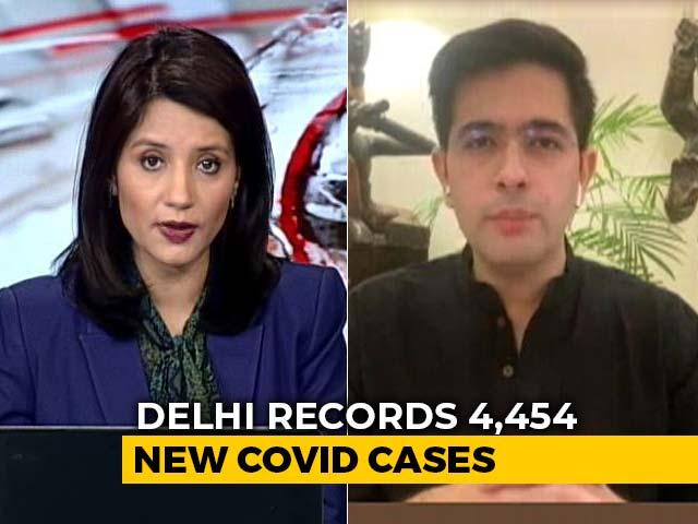 """Video : """"We Don't Believe In Intermittent Lockdown, Night Curfews"""": AAP's Raghav Chadha"""