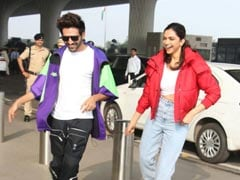"Deepika Padukone And Kartik Aaryan, In A Chatty Mood, Discuss A ""Fun Film"" And More"