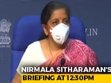 Video : Nirmala Sitharaman Likely To Announce Stimulus Package Today
